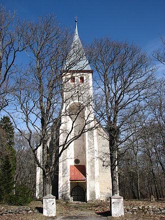 Karuse - Karuse Church