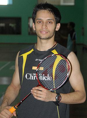 Parupalli Kashyap - Image: Kashyap badminton