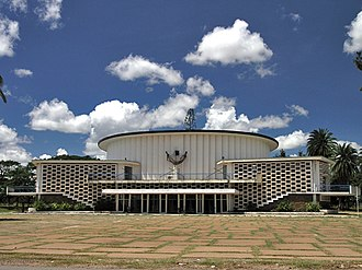Katanga Province - Provincial assembly building of Katanga in Lubumbashi