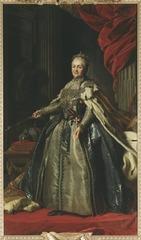Katarina II, 1729-1796, kejsarinna av Ryssland prinsessa av Anhalt-Zerbst