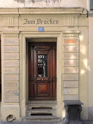 Katharina von Zimmern - Bracken building, Oberdorfstrasse 17