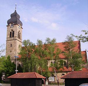 Eisenberg, Rhineland-Palatinate - Image: Katholische Kirche Eisenberg