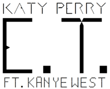 Description de l'image  Katy Perry - E.T. Logo.png.
