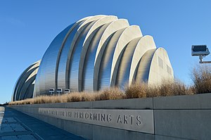 Kauffman Center for the Performing Arts - Image: Kauffman Center for Performing Arts