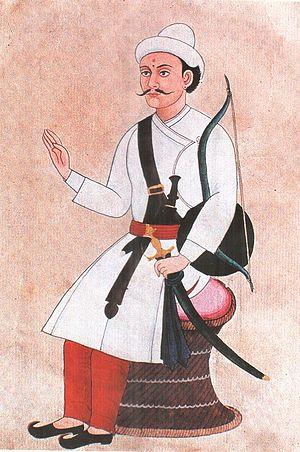 Basnyat family - Kehar Singh Basnyat, Nepali General, a noble Shreepali Basnet