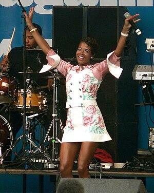Kelis - Kelis performing in 2007