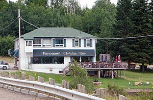 Shania Twain - Kenogami Lake, Ontario where Twain spent much time practicing in 1985
