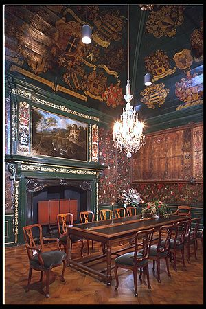 Pieterskerk, Leiden - Church Trustees room