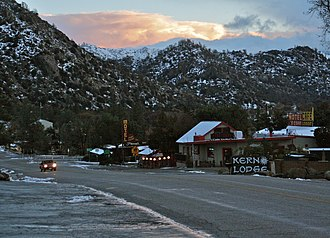 Kernville, California - Sierra Way, December 2016