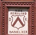 Kersland House Date Stone and Coat of Arms.JPG