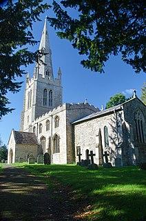 Keysoe village in the United Kingdom
