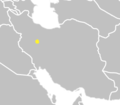 Khalaj Turkic Language distribution map.png