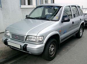 Kia Sportage, 1. Generation