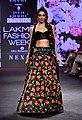 Kiara Advani walked the ramp at the Lakme Fashion Week 2018 (22).jpg