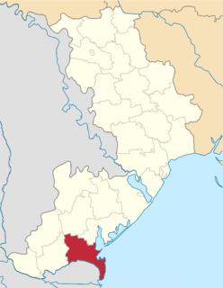 Kiliia Raion Former subdivision of Odessa Oblast, Ukraine