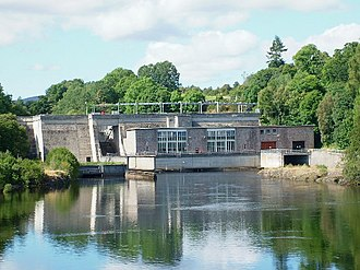 River Beauly - Kilmorack Power Station