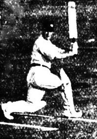 Roy Kilner - Image: Kilner batting