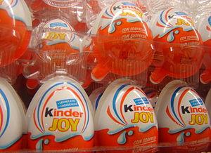 Kinder Joy - Kinder Joy on store shelves with Spanish/Portuguese packaging