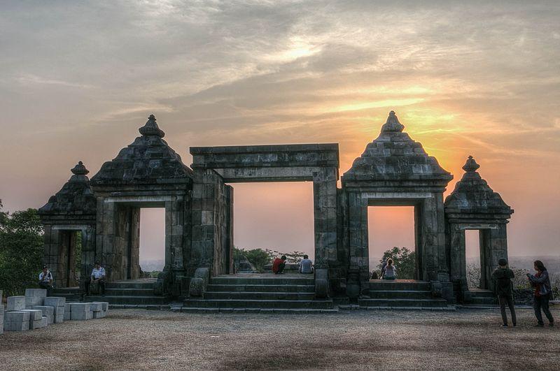 File:King Boko Palace, Yogyakarta; September 2013.jpg