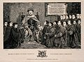 King Henry VIII granting a Royal charter to the Barber-Surge Wellcome V0006671.jpg