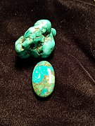 Turquoise, one of three December birthstones