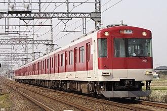 Karasuma Line - Image: Kintetsu 3200 001 JPN