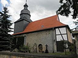 Church in Hainichen (Thüringen) in Thuringia
