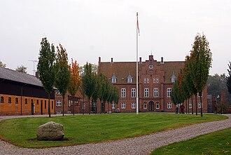 Holbæk Municipality - Image: Knabstrup Hovedgaard