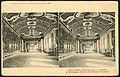 Knackstedt & Näther Stereoskopie 0697 Duitschland, Beelden-galery in Sanssouci. L`Allemagne, Gallerie de tableaux à Sanssouci, Bildseite mit der Gemäldegalerie, Beschriftung niederländisch und französisch.jpg