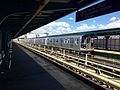 Knickerbocker Avenue - Train on Manhattan Bound Platform.jpg