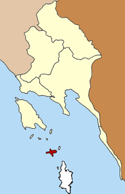Subdistrict location in Trat Province