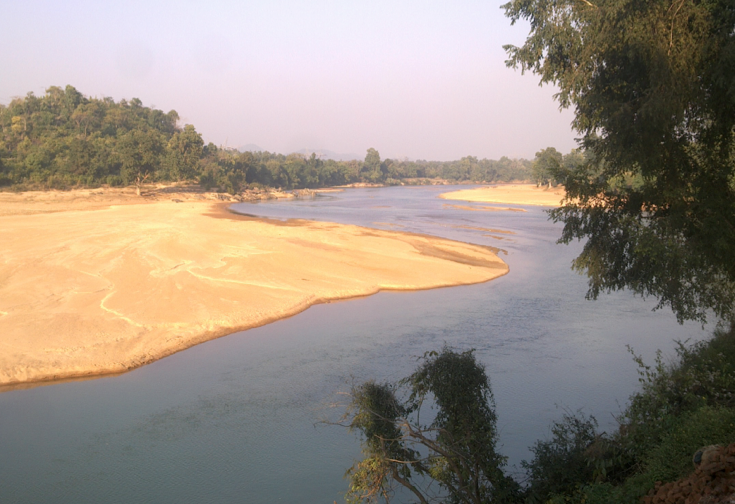 Koel river Jaraikela Orissa