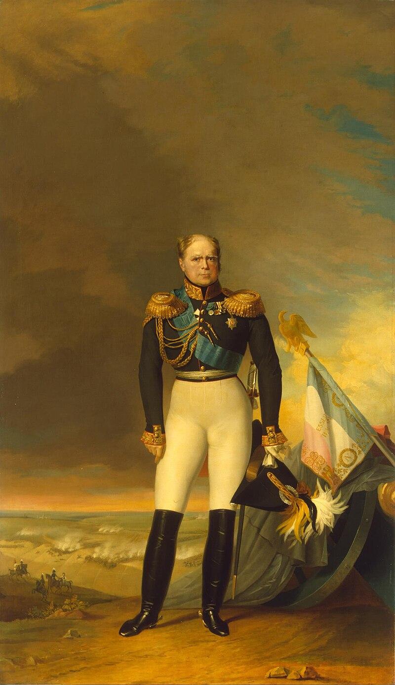 Портрет великого князя Константина Павловича работы Джорджа Доу