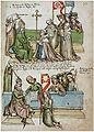 Konstanzer Richental Chronik Belehnung des Erzbischofs von Mainz und Adolf von Cleves 77r.jpg