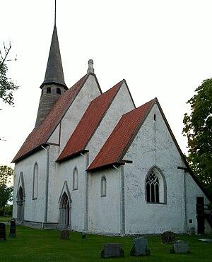 Kräklingbo Church - Image: Kraeklingbo kyrka Gotland total 1