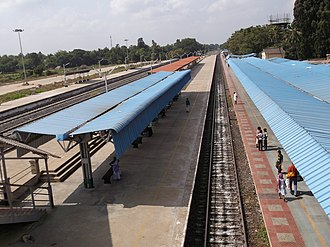 Kumbakonam - Kumbakonam railway station (southern side)