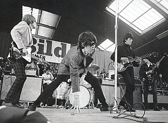 Aftermath (The Rolling Stones album) - The Rolling Stones performing in Sweden shortly before the album's release