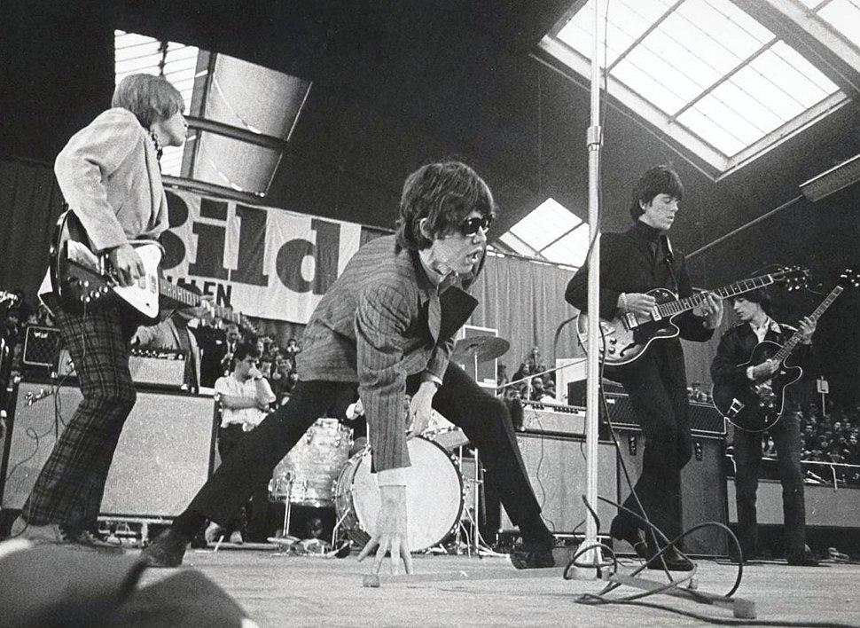 Kungliga Tennishallen Stones 1966a