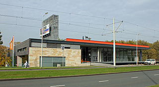 Kunsthal Art museum in Rotterdam, Netherlands