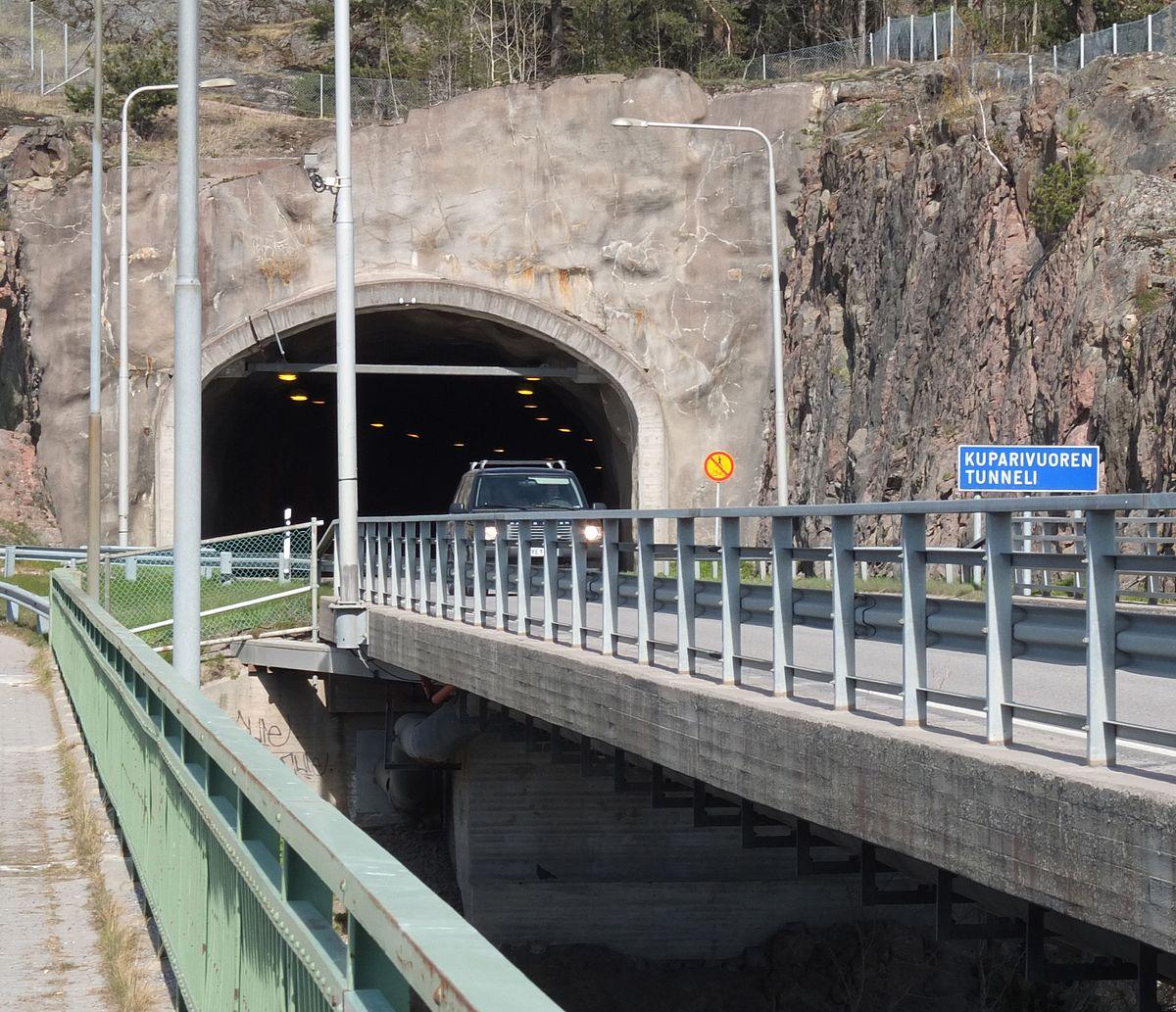 Kuparivuoren Tunneli