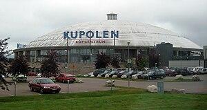 Borlänge - Kupolen shopping centre in Borlänge