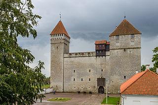 Kuressaare Place in Saare, Estonia