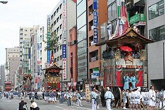 Japanese festivals - Gion Matsuri In Kyoto