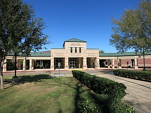 Greatwood, Texas - Bess Campbell Elementary School in Greatwood