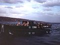 LVT and landing craft from USS Sanborn (APA-193) off Iwo Jima 1945.jpg