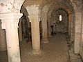 La Celle-Condé Église Saint-Denis Crypte Côté Sud.jpg