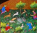 La Chasse au furet, Gaston Phoebus, 1387.jpg