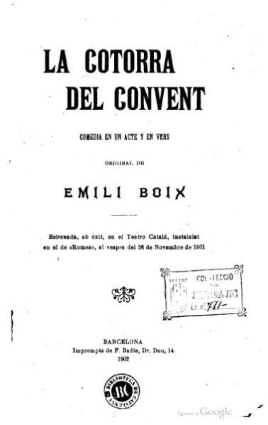 File:La Cotorra del convent (1901).djvu