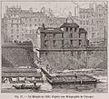 La Morgue en 1830, d'après une lithographie de l'époque.jpg