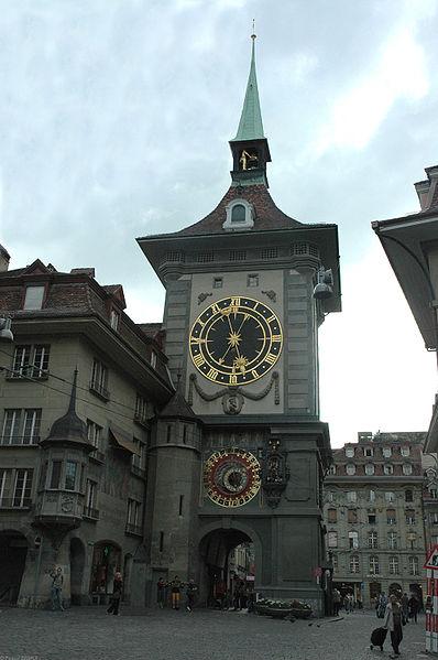 Fichier:La Tour de l'Horloge à Berne w.jpg